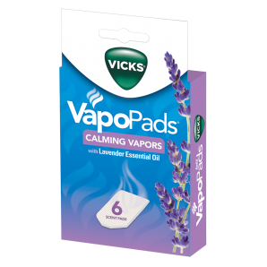 Calming Menthol and Lavender VapoPads, 6 Pack